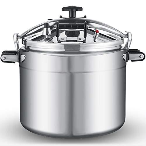 Commercial Pressure cooker 60 quart high pressure cooking pot 57 Liter large capacity explosion-proof Gas stove cooker restaurant hotel 33/50/60/80 qt