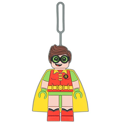 LEGO Batman Robin Luggage Tag