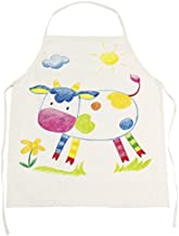 Goki Cooking Apron Unpainted Drawing Set