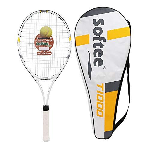 Softee T1000 Real Attack Raqueta Tenis, Unisex, Multicolor, L