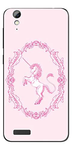 Disagu SF-108099_1127 Design Folie für Phicomm Energy 2 - Motiv klassisches Einhorn rosa