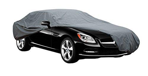 Funda exterior premium para Peugeot RCZ, impermeable, doble capa sintética y de finas trazas de alg