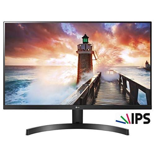 LG 27MK600M Monitor, 27 Pollici, LED IPS Full HD 1920 x 1080, 5 ms, Radeon FreeSync 75 Hz, Multitasking, VGA, HDMI, Borderless