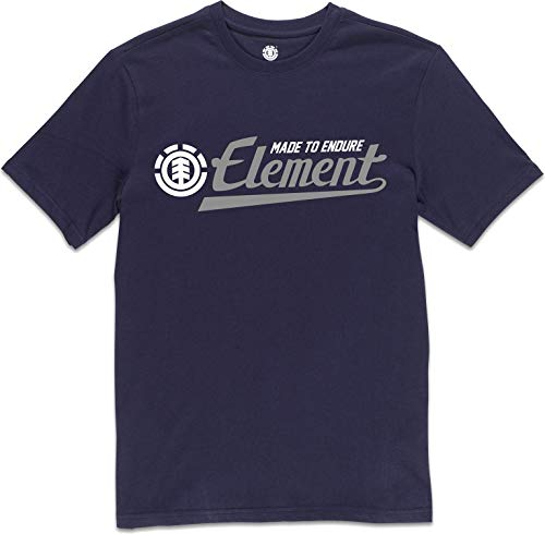Element Herren Signature SS Tees, Eclipse Navy, L