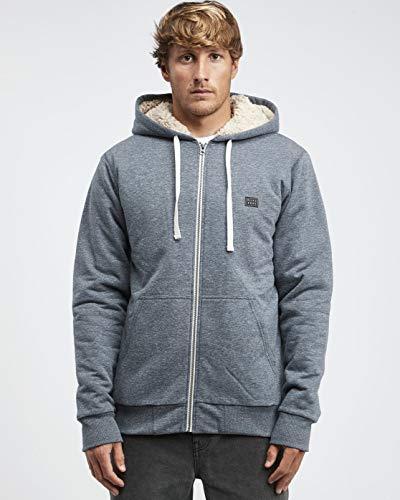 BILLABONG™ All Day - Sherpa Zip Jumper for Men - Sherpa Pullover Jacke - Männer