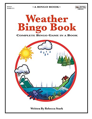 Weather Bingo Book: Complete Bingo Game In A Book (Bingo Books)