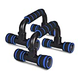Rexez Push Up Bars Stand with Foam Grip Handle for Chest Press,...