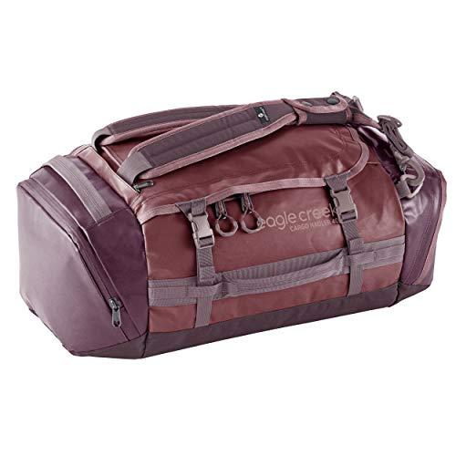 Eagle Creek Cargo Hauler - superleichte Reisetasche mit 40 L Volumen I Sporttasche fürs Fitnessstudio, Wandern und Kurztrips I abrieb- & wasserbeständiges, Gewebe Earth Red