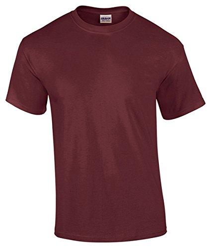 Gildan 5000-Camiseta Hombre    Rouge - Rouge XL
