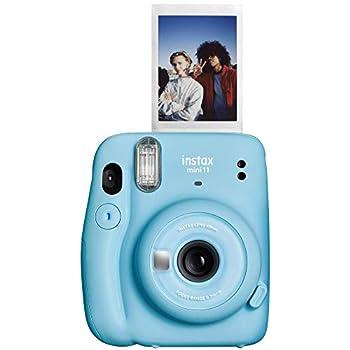 Fujifilm Instax Mini 11 Instant Camera - Sky Blue 4.8  x 4.2  x 2.6  Camera Only