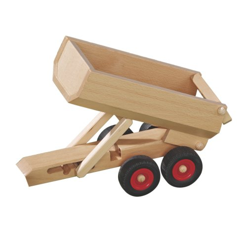 Preisvergleich Produktbild Fagus Muldenkipper Anhänger für Holzfahrzeug / Modell: 10.31 (ab 3 Jahren)