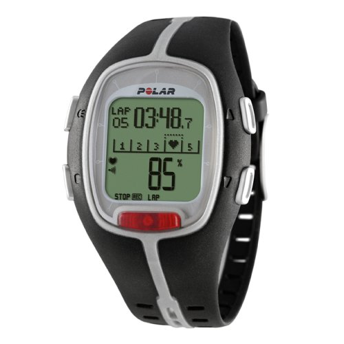 POLAR RS200 Heart Rate Monitor Watch (Black)