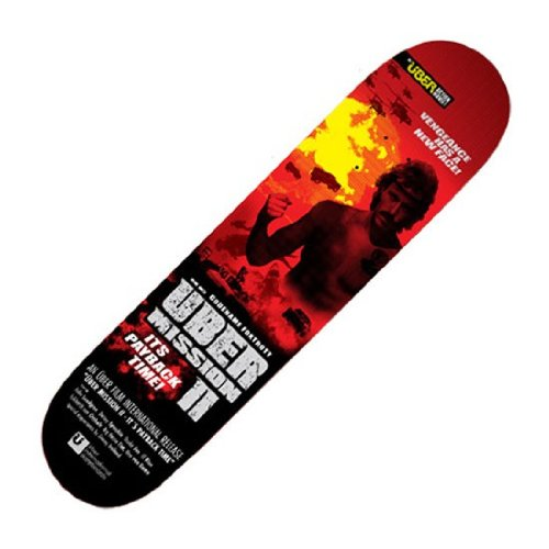 Ueber Skateboards Deck At The Movies Mission II 7.5 inch