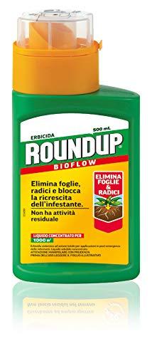 Roundup Bioflow PFnPE Erbicida Totale, 500ml