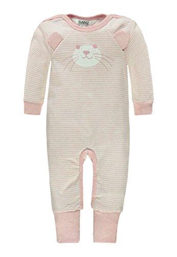 Kanz Unisex Baby  Overall 1/1 Arm, Rosa (Parfait Pink Melange 8195), 74