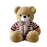 KAWAYI Oso Peluche Gigant- Peluches Gigantes Osos - Peluches para Bebes - Giant Teddy Bear - Osos de Peluche Gigantes - Regalos para Mi Novia, Regalos Originales para Bebes Recien Nacidos,B,1.6m