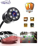 FABTEC LED Night-Vision Waterproof Car Rear View Reverse Parking HD Camera For (All Cars)