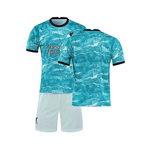 LCHENX-Hombres 2021 Liverpool Football Club # 10 Sadio Mane Conjunto de Camiseta de Aficionados Al Fútbol,B Green,M