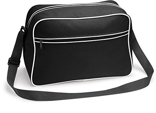 TASCHE Retro Shoulder / Polyester / 40x28x18 cm / Black / 684.29