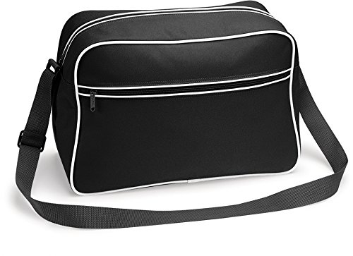 TASCHE Retro Shoulder / Polyester / 40x28x18 cm / Black / 684.29