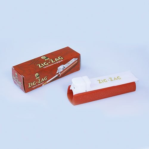 Zigarettenstopfmaschine Zig Zag Standard aus Kunststoff in rot weiss