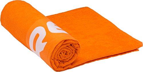 Cressi - Toalla de playa, color naranja, 80 x 180 cm