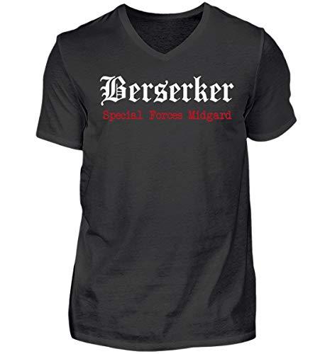 Berserker - Special Forces Midgard - Herren V-Neck Shirt