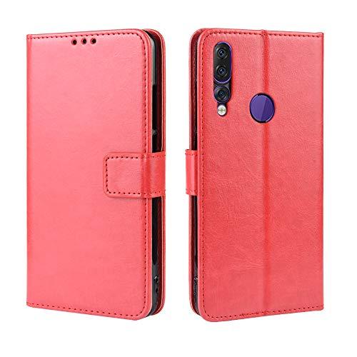 Custodia® Flip Brieftasche Hülle für Lenovo Z5s(Muster 4)