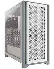 CORSAIR 4000D エアフロー強化ガラス製ミドルタワー ATX PCケース ホワイト CC-9011201-WW CS7976