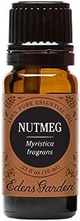 Edens Garden Nutmeg Essential Oil, 100% Pure Therapeutic Grade (Inflammation & Massage) 10 ml
