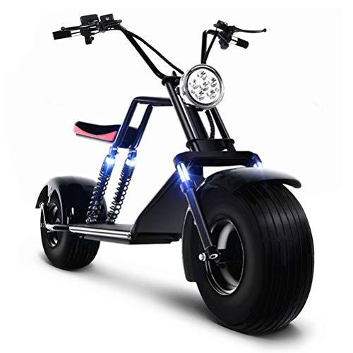 DOS Moto Electrica Scooter Ciclomotor Electrico de 1500w