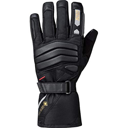 IXS Motorradhandschuhe lang Motorrad Handschuh Sonar-GTX 2.0 Tour Damen Handschuh schwarz L, Tourer, Ganzjährig, Leder
