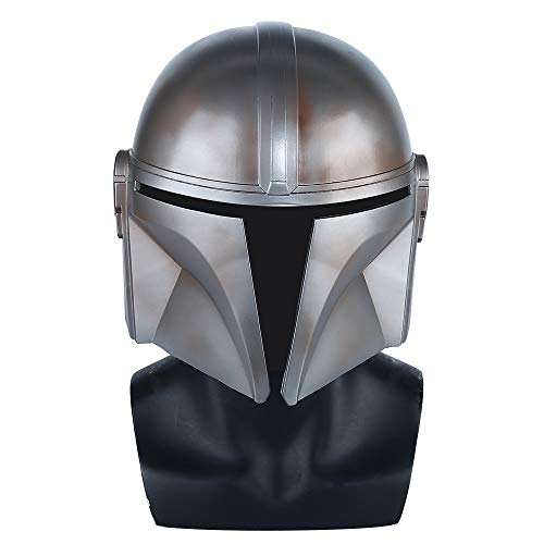 insp YK Mandalorian Helmet Star Wars Cosplay Mask TV Drama Movie Halloween Props Man