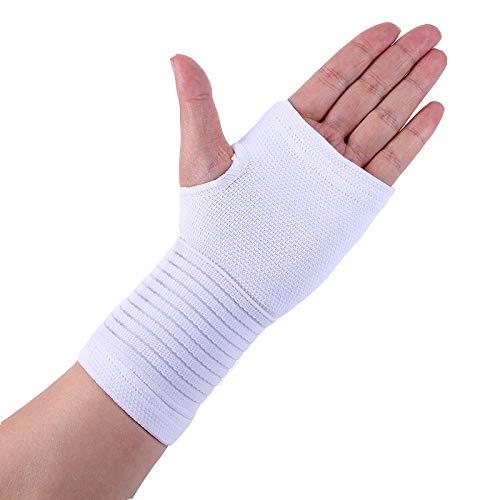 YOUTHLIKEWATER Polssteun 2 stks sport beschermende handschoen verstelbare bandage polssteun fitness halter hand brace gym accessoires palm pad 4 kleur