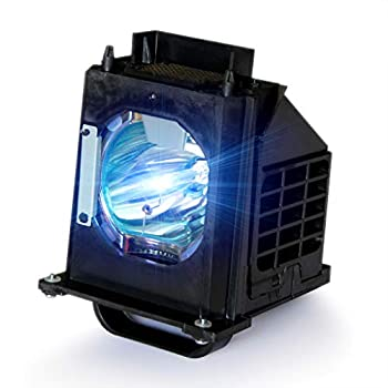 Tawelun 915B403001 TV Replacement Lamp with Housing for Mitsubishi WD-60735 WD-60737 WD-65735 WD-73737 WD-73735 WD-65C9 WD-65737 WD-65837 WD-73736