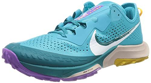 Nike Air Zoom Terra Kiger 7, Zapatillas para Correr Hombre, Turquoise Blue/White-Mystic Te, 41 EU