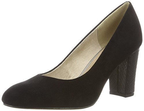s.Oliver Damen 22403 Pumps, Schwarz (Black 001), 40 EU