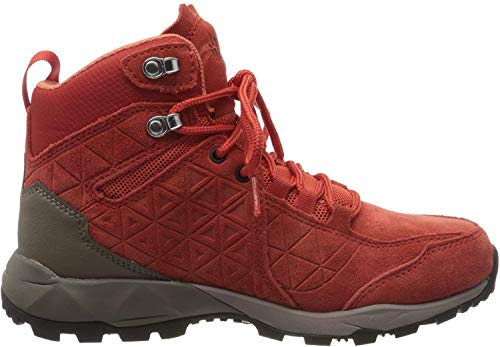 Jack Wolfskin Damen Cascade Hike LT Texapore MID W Walking-Schuh, red/orange, 39.5 EU