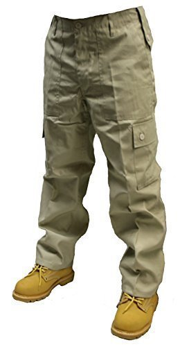 Spodnie bojowe dla dorosłych 6 kieszeni wojskowe bojówki bojówki szer. 62 cm - 147 cm krótkie, reg i długie nogi w 18 kolorach!