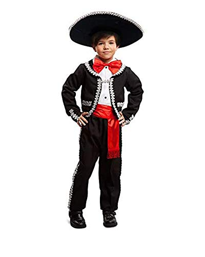 Dress-Up-America Traditional Mexican Costume For Boys - Mexican Mariachi Set For Kids - Jacket, Pants, Bow-Tie And Sash