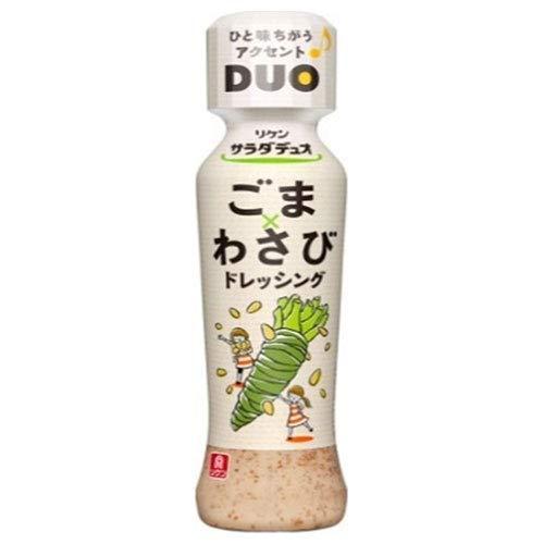 理研ビタミン リケン サラダデュオ ごまわさびドレッシング 190mlペットボトル×12本入