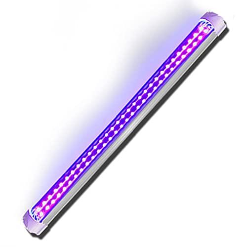 Luz UV LED de curado de doble fila 395nm lámpara sin sombra pegamento UV Solidificación Luz ultravioleta, USB recargable LED de bajo voltaje luz púrpura,adecuado para barra KTV lámpara UV fluorescente