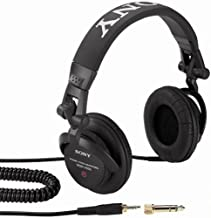 Sony MDR-V500DJ Monitor Series Headphones with Swivel Earcups (Discontinued by Manufacturer)