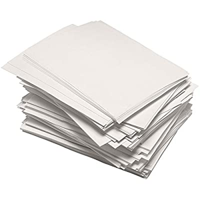TYH Supplies 2000 Pack Newsprint Drawing Paper Printer Friendly Blank 32 lb, Rough, 8.5 x 11 Inches from TYH Supplies