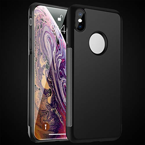 BYSDSG Anti Gravity Phone Bag Funda para iPhone X 8 7 6S Plus Antigravity TPU Frame   Suction Cover Adsorbed Car Case, 2, para iPhone 7
