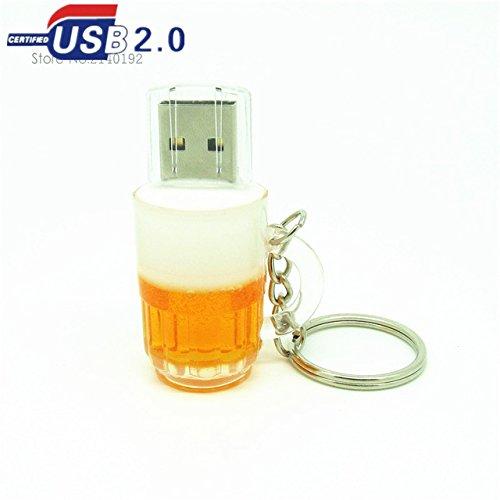 CHIAVETTA PEN DRIVE USB 2.0 8 GB FLASH DRIVE A FORMA DI BIRRA NUOVA