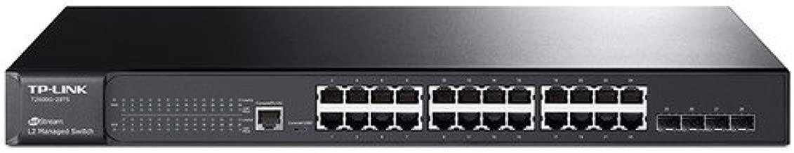 TP-Link Jetstream 24-Port Gigabit Ethernet L2 Managed Switch with 4-SFP Slots (T2600G-28TS/TL-SG3424)