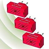 ISOTRONIC Mäusevertreiber/Nagetier Vertreiber mit Ultraschall, Abwehr gegen Mäuse und Ratten, elektrisch, Tiervertreiber ohne Mausefalle und Rattengift (3)