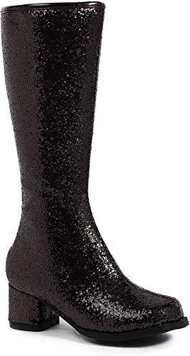 Ellie Shoes 1.75″ Heel Children's Gogo Boot. XL BLKG