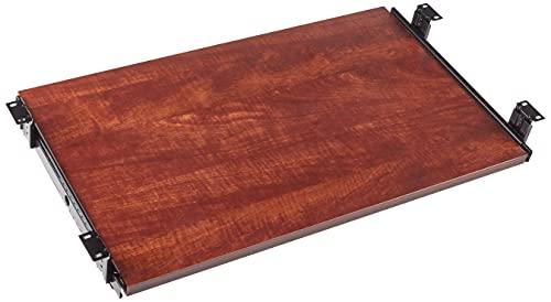 Lorell 87526 Keyboard Tray, 26'x15-3/8', Cherry